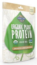 Garden of Life Organic Plant Protein Review Smooth Unflavored