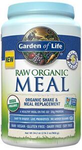 Garden of Life Raw Meal Vanilla Review