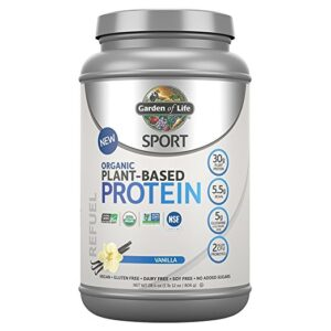 Garden of LIfe Sport Protein Vanilla Review