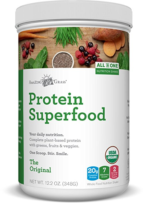 amazing grass protein superfood original review