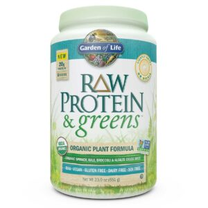 garden of life raw protein and greens lightly sweet review