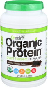 orgain protein creamy fudge review