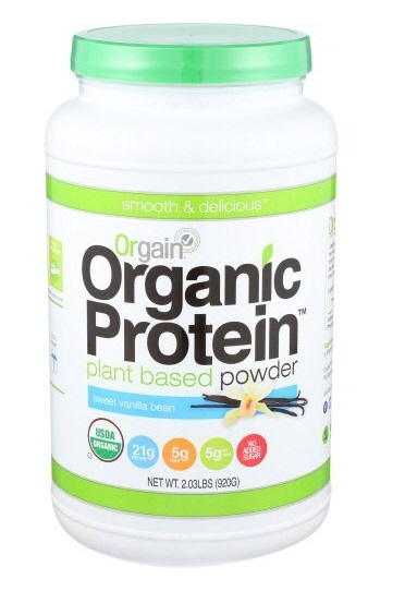 orgain protein powder reviews