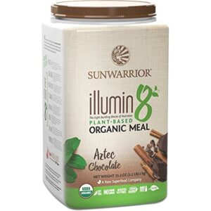 sunwarrior illumin8 aztec chocolate review