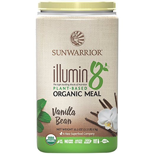 sunwarrior illumin8 vanilla bean review