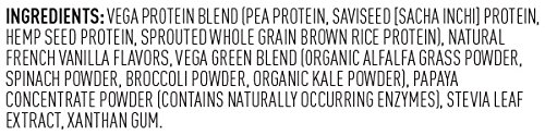 Vega Protein Smoothie Ingredients Review Vegan