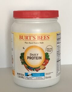 Burt's Bees Daily Protein Vanilla Review