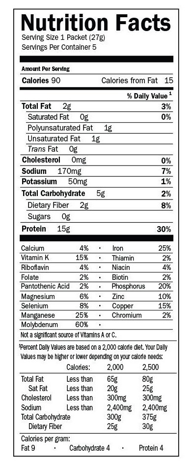 Garden of Life Organic Plant Protein Nutritional Review
