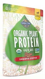 Garden of Life Organic Plant Protein Review Smooth Coffee
