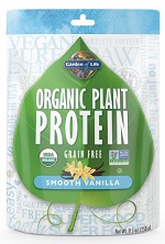Garden of Life Organic Plant Protein Review Smooth Vanilla