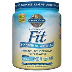 Garden of Life Raw Fit Vanilla Review