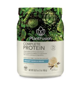 PlantFusion Complete Protein Powder Creamy Vanilla Bean Review