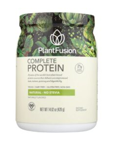 PlantFusion Complete Protein Powder Natural Stavia Free Review