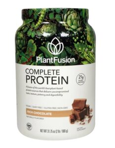 PlantFusion Complete Protein Powder Rich Chocolate Review