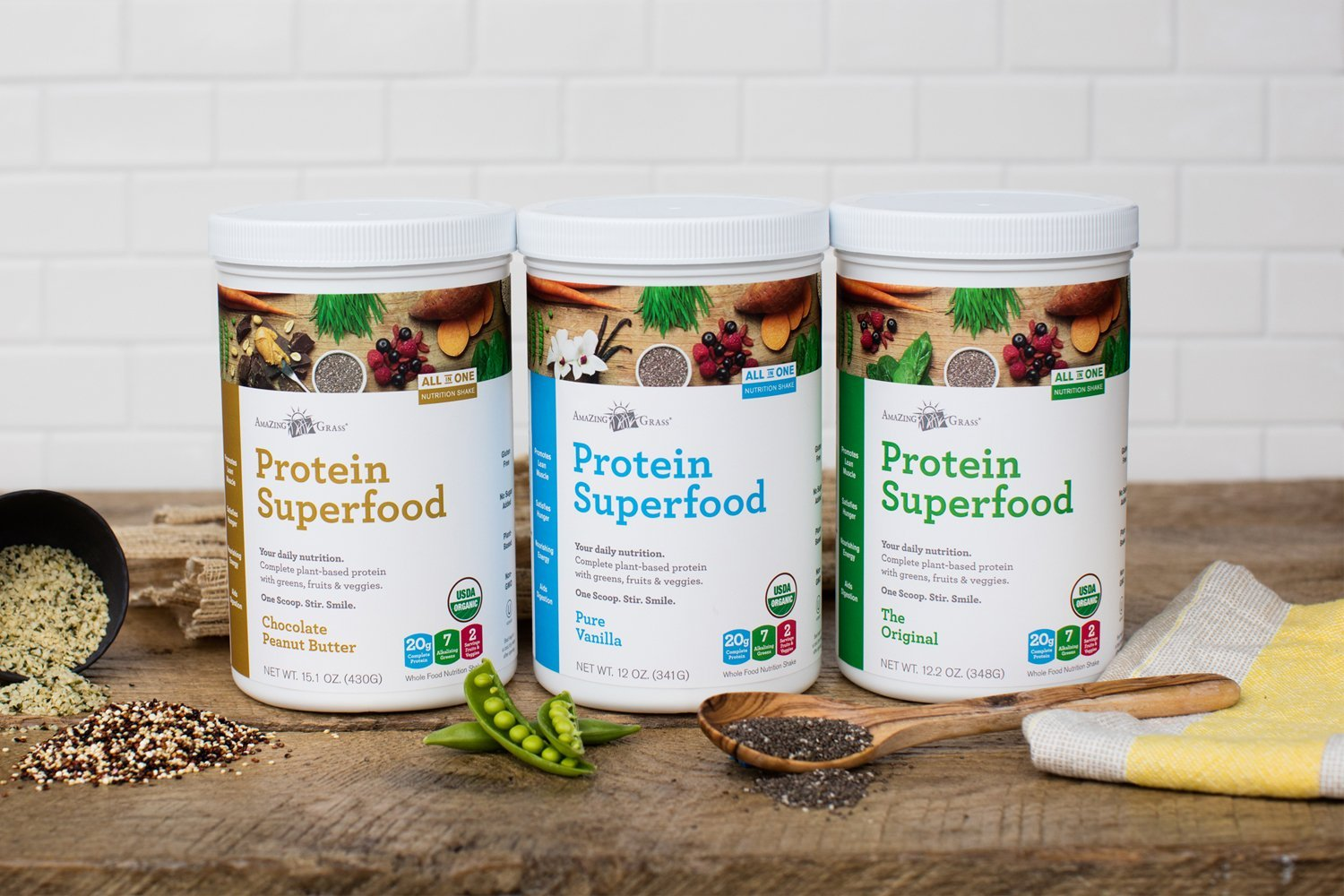 amazing grass protein superfood reviews