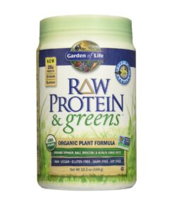 garden of life raw protein and greens vanilla review
