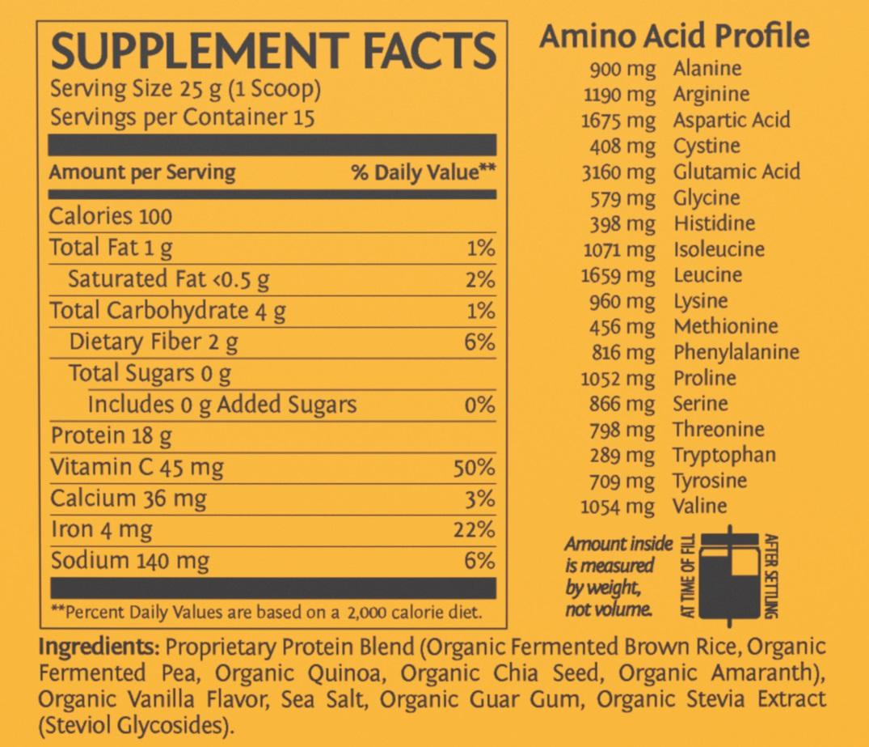 sunwarrior classic plus protein reviews