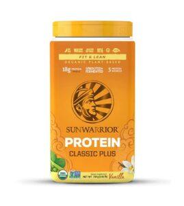 Sunwarrior Classic Plus Vanilla Protein Powder Review