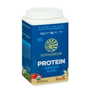 sunwarrior warrior blend protein powder review
